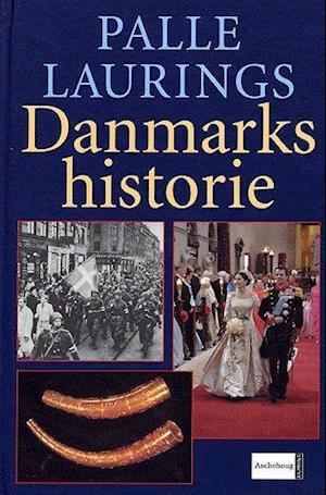 Bog, indbundet Palle Laurings Danmarkshistorie af Palle Lauring