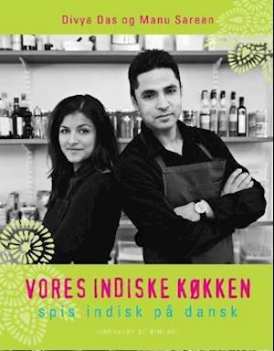 Bog, indbundet Vores indiske køkken af Manu Sareen
