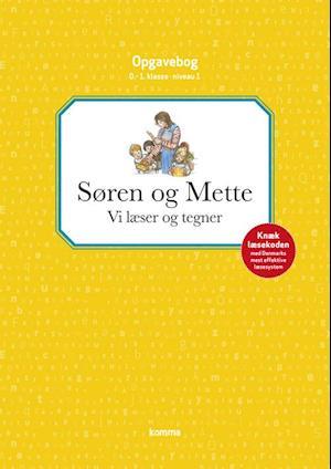 Søren og Mette - vi læser og tegner af Knud Hermansen, Ejvind Jensen