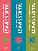 Tankens magt, 1 sæt bind 1-3, hc. af Hans Siggaard Jensen, Frederik Stjernfelt, Ole Knudsen