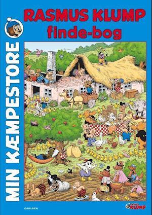 Bog, papbog Min kæmpestore Rasmus Klump finde-bog af Henrik Rehr