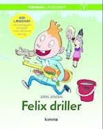Felix driller (Kommas læsestart)