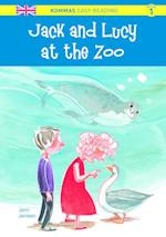 Jack and Lucy at the zoo (Kommas easy reading)