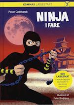 Kommas læsestart: Ninja i fare - niveau 2