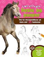 Lær at tegne heste og ponyer