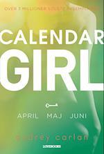 Calendar girl- April, maj, juni (Calendar Girl)