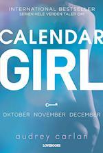 Calendar Girl 4: oktober-november-december (Calendar Girl)