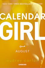 Calendar Girl: August (Calendar Girl, nr. 8)