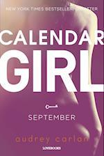 Calendar Girl: September (Calendar Girl, nr. 9)