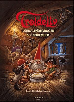 Troldeliv - Julekalenderbogen: 30. november af Sissel Bøe