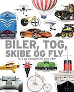 Biler, tog, skibe og fly