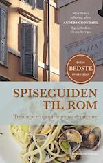 Spiseguiden til Rom af Anders Grøndahl