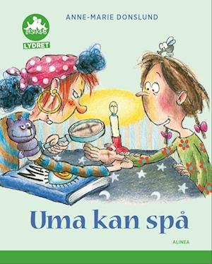 Bog, hæftet Uma kan spå, Grøn Læseklub - lydret af Anne-Marie Donslund