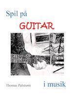Spil på guitar i musik