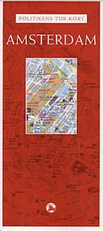 Politikens tur-kort Amsterdam (Politikens rejsebøger)