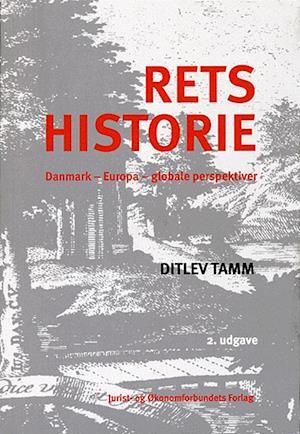 Bog, paperback Retshistorie af Ditlev Tamm