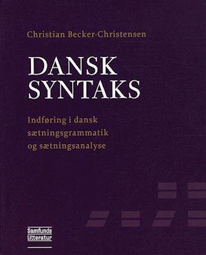 Dansk syntaks af Christian Becker-Christensen