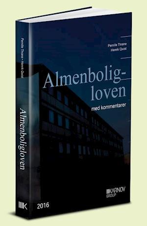 Bog, indbundet Almenboligloven af Henrik Qwist, Pernille Thrane