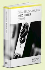 Skattelovsamling med noter 2016/2