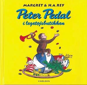 Peter Pedal i legetøjsbutikken af Margret Rey