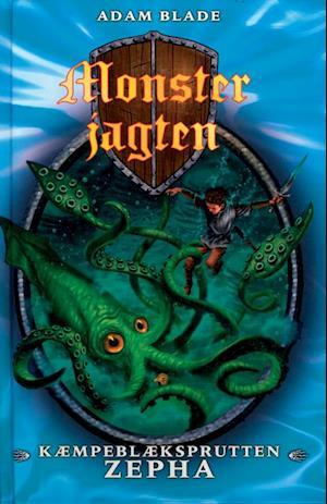 Kæmpeblæksprutten Zepha af Adam Blade