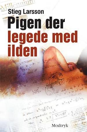 Bog, indbundet Pigen der legede med ilden af Stieg Larsson