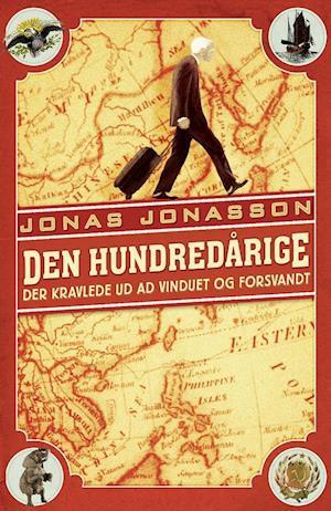 Bog, indbundet Den hundredårige der kravlede ud ad vinduet og forsvandt af Jonas Jonasson