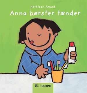 Anna børster tænder af Kathleen Amant