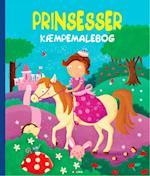 Kæmpemalebog: Prinsesser