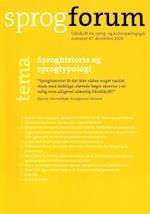Sproghistorie og sprogtypologi af Hanne Leth Andersen, Annette Søndergaard Gregersen, Pia Zinn Ohrt
