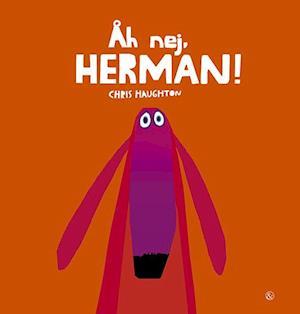 Bog, indbundet Åh nej, Herman! af Chris Haughton
