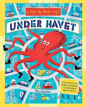 Bog, indbundet Kan du finde vej? - under havet af Joanna Mclnerney