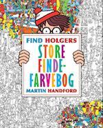 Find Holgers store finde-farvebog (Find Holger)