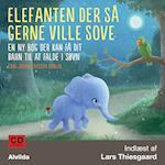 CD-lydbog - Elefanten der så gerne ville sove