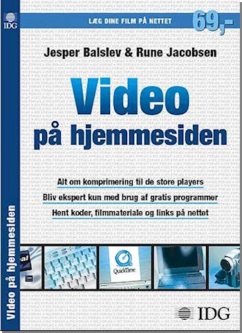 Video på hjemmesiden