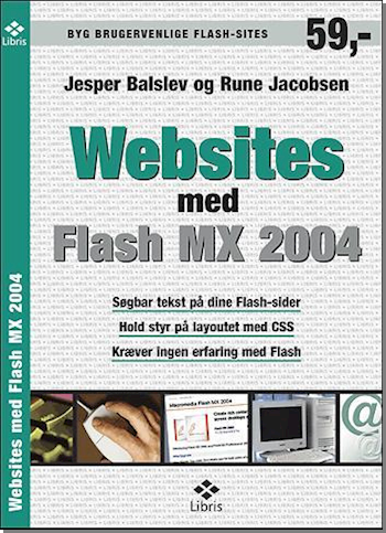Websites med flash MX 2004