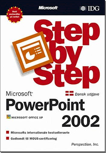 Microsoft PowerPoint 2002 - step by step