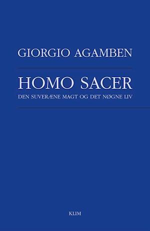 Homo sacer af Giorgio Agamben