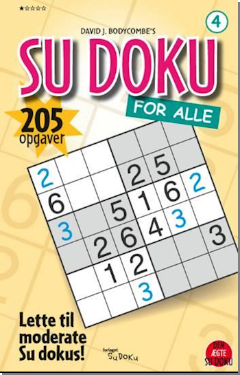 SU DOKU for alle 4