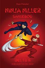 Ninja Niller - samlebog del 7 & 8 af Rune Fleischer