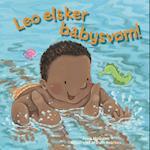 Leo elsker babysvøm!