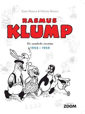 Bog, indbundet Rasmus Klump: De samlede eventyr 1955-1959 af Vilhelm Hansen, Carla