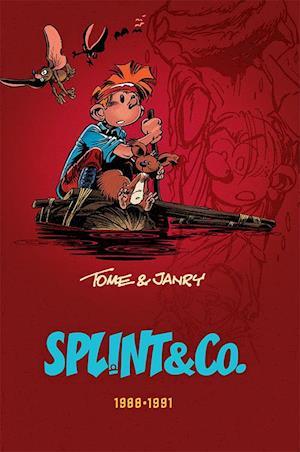 Bog, indbundet Splint & Co.: Den komplette samling 1988-91 af Janry, Tomé