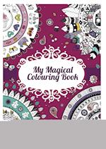 My magical colouring book