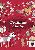 Christmas Coloring - Rød