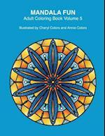 Mandala Fun Adult Coloring Book Volume 5