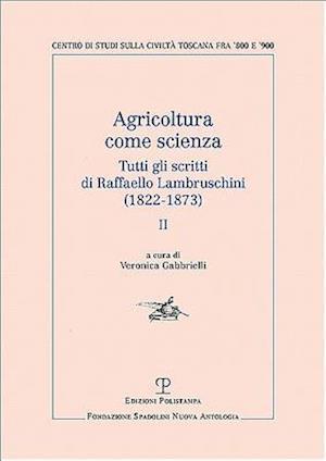 Bog, paperback Agricoltura Come Scienza af Raffaello Lambruschini