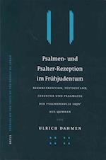 Psalmen- Und Psalter-Rezeption Im Fr]hjudentum af Ulrich Dahmen, U. Dahmen