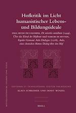 Hofkritik Im Licht Humanistischer Lebens- Und Bildungsideale af Ernst Wenzel, Klaus Schreiner