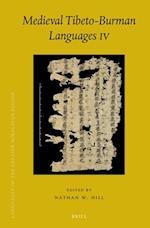 Medieval Tibeto-Burman Languages IV af Nathan Hill
